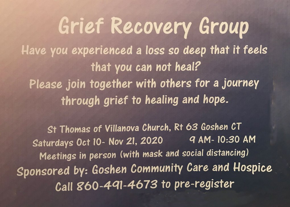 Grief Recovery Group